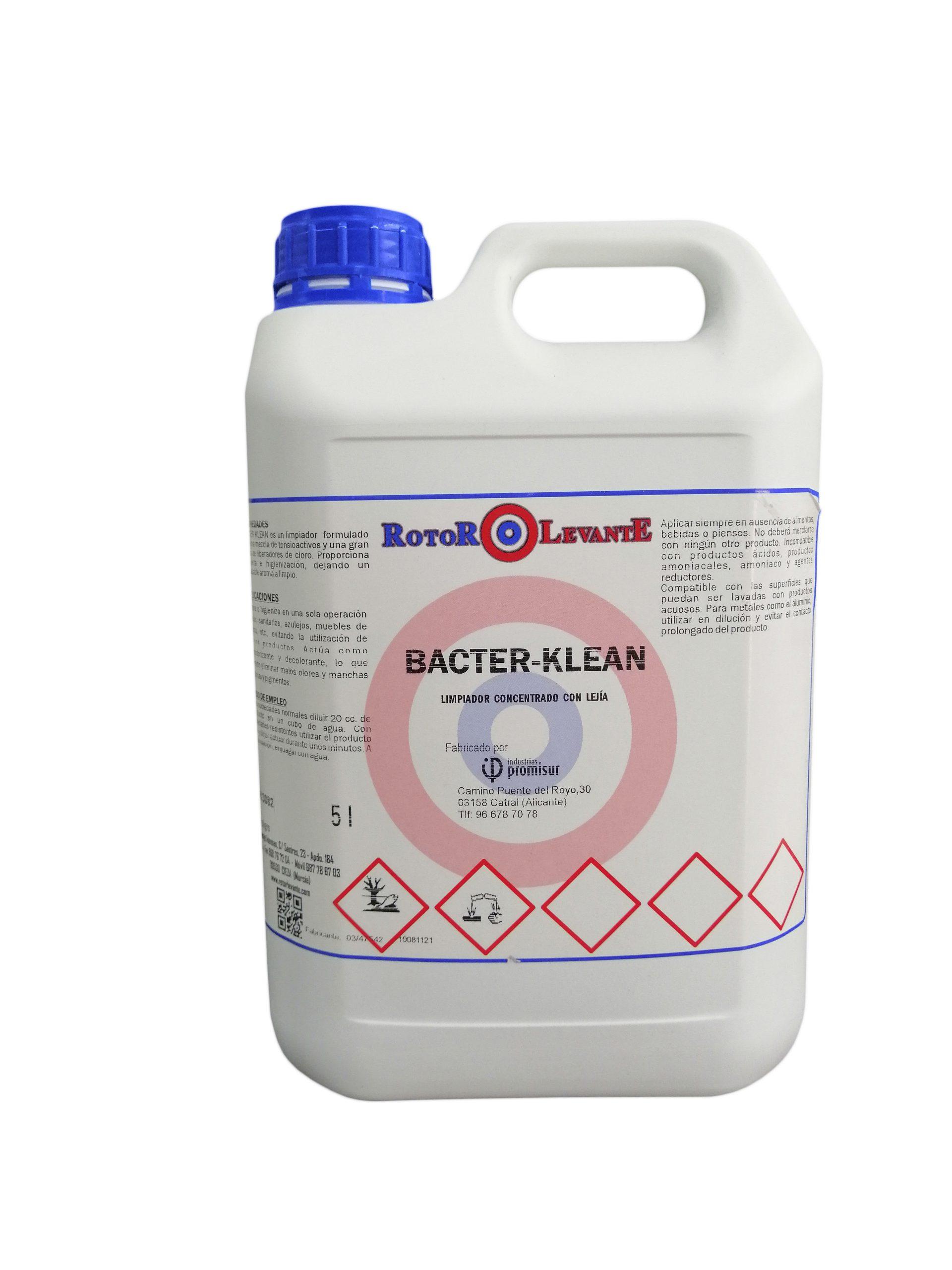 detergente desinfectante rotor levante
